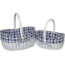 bulk gift baskets bulk wicker woven willow handle gift basket for sale buy willow