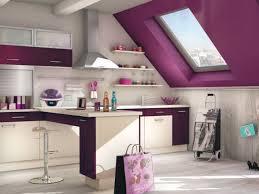 cuisine couleur violet quelle couleur pour une cuisine meuble de cuisine noir quelle