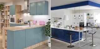 couleurs de cuisine déco de cuisine vintage en couleur en bois quel style adopter