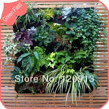 Vertical Garden Pot - 12 pockets vertical garden green wall planter pot felt pocket bag