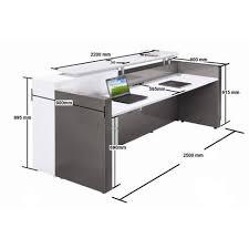 Reception Desk Height Dimensions Reception Desk Dimensions Pinterest Reception Desks Desks