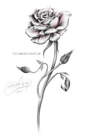 best 25 rose with stem tattoo ideas on pinterest rose tattoo