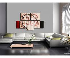 cherry home decor cherry blossom tree painting unique oriental zen asian style