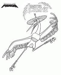 master crane kung fu panda coloring download u0026 print