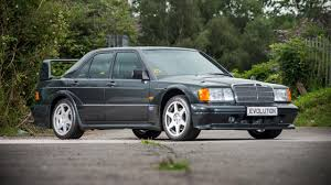mercedes 190e amg for sale this warp mercedes 190 evo ii is up for grabs