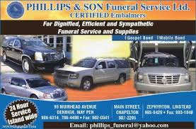 funeral home supplies phillips funeral services ltd jamaican classifieds