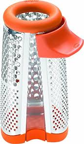 chef n cheese grater chef n 4 in 1 cheese grater apricot orange grater