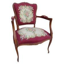 Burgundy Accent Chair Vintage U0026 Used Burgundy Accent Chairs Chairish