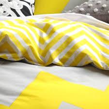 King Size Cotton Duvet Cover Duvet Covers Yellow Seafaring Printd Bedding Set Cotton