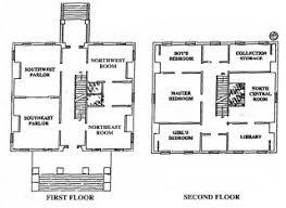 historic revival house plans clarke house floor plan revival history