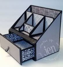 Diy Desk Organizer Ideas How To Diy Cardboard Desktop Organizer With Drawers Diy