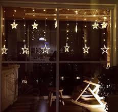 curtain lights loskii dx 336 220v led light string shape curtain light home