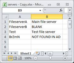 Exles Of Dashboards In Excel by Vbscript To Read And Update An Excel Spreadsheet With Computer