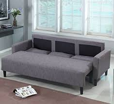 Large Sleeper Sofa Product Reviews Buy Large Grey Brown Cloth Modern Contemporary