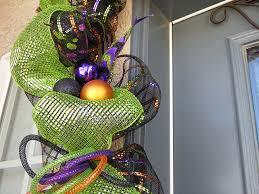 amazon com halloween garland swag halloween door swag halloween