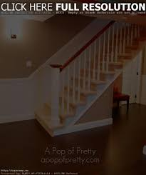 basement stair handrail ideas stairs decorations and installations