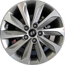 hyundai sonata grey aly70877u hyundai sonata wheel grey machined 52910c2380