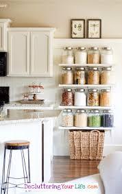 organize kitchen declutter your kitchen diy shelves to organize a country kitchen