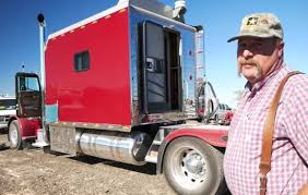 Sleeper Trucks With Bathrooms Lifelong Trucker Takes Us On A Tour Of His Over Sized Sleeper