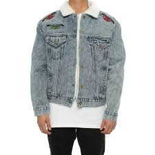 Light Denim Jacket Lifted Anchors Kershaw Denim Jacket Light Denim U2013 Culture Kings