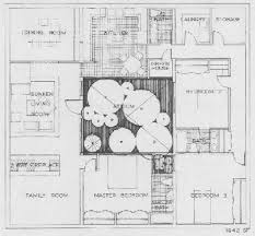 house plans atrium center house plan