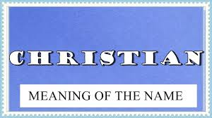 meaning of the name christian facts horoscope