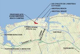 Cap Pele Cottages by New Campsite Planned For Aboiteau Beach Concerns Residents New