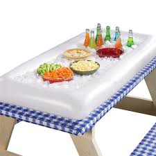 inflatable serving bar cooler buffet salad food drink tray ice