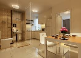 kitchen and dining interior design interior design perspective of dining room kitchen and toilet