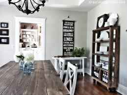 Simple And Clean With Subway Roll Sign Our Vintage Home Love - Vintage dining room ideas