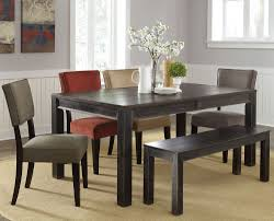black solid wood dining set with bench lowest price in chicago