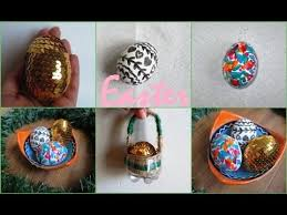 easter egg baskets to make diy easter mini gift basket easter eggs decorations recycling