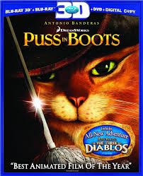 puss boots dvd release february 24 2012
