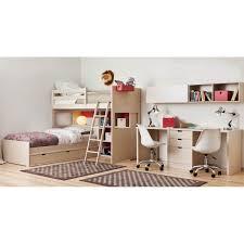 bureau superposé chambre haut de gamme pour enfants avec lits superposés asoral