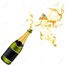 champagne silhouette png pictures of champagne bottle exploding clipart clipart