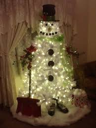 snowman christmas tree make a snowman out of a christmas tree craft projects for every