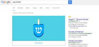 musical dreidel play dreidel search returns digital version of hanukkah