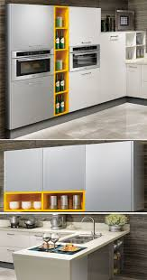 made in china kitchen cabinets oppein brand white acrylic u shape wooden kitchen cabinet op15