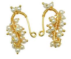 bugadi earrings buy gold marathi bugadi helix clip on maharashtrian