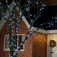 outdoor led string lights connectable rubber cable