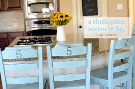chalk paint on kitchen cabinets review a chalk paint review faq oldsaltfarm
