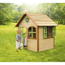 giardino bambini casetta gioco dal design originale in legno di cedro di design per