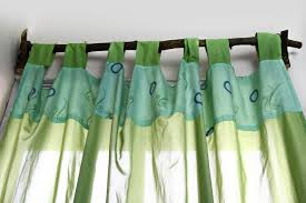 Turquoise Curtain Rod How To Make A Birch Tree Curtain Rod 4 Steps With Pictures