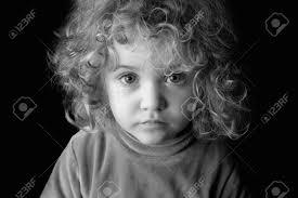 tableau portrait noir et blanc enfant triste banque d u0027images vecteurs et illustrations libres de