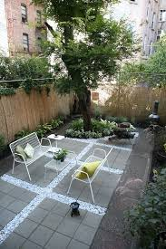 after before and a modern brooklyn backyard on budget gardenista