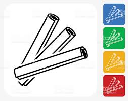 Building Blue Prints by Building Blueprints Icon Flat Graphic Design Stock Vector Art