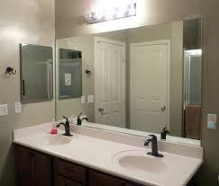 bathroom mirror ideas diy mirrors ideas for framing a large bathroom mirror framing a