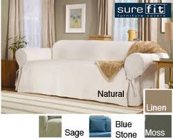 sure fit chair slipcover sure fit duck washable sofa slipcover sofa