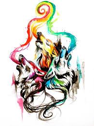 howling wolf triad by lucky978 deviantart com on deviantart