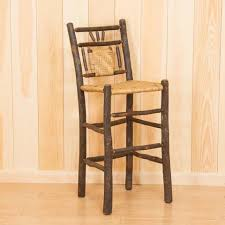 Adirondack Bar Stools Custom Made Adirondack Dining U0026 Bar Chairs Dartbrook Rustic Goods